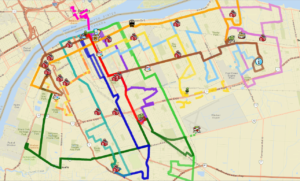 Transit Windsor Map