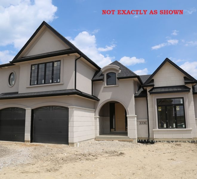 Custom Built Home in Windsor Ontario