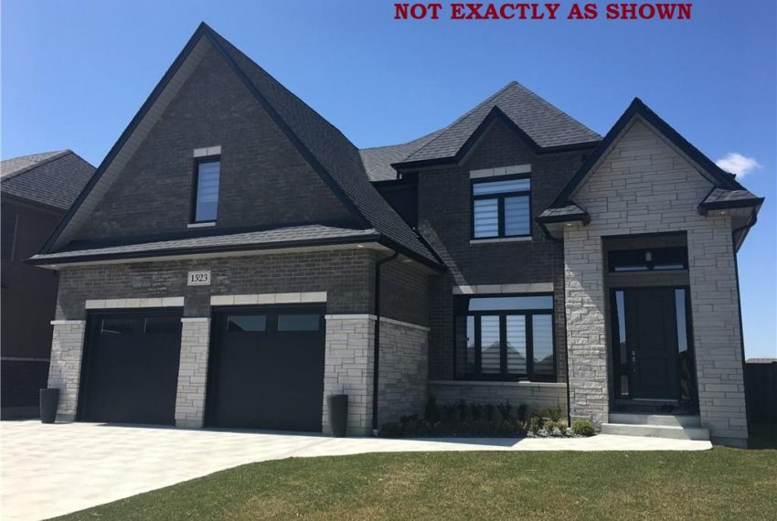 New Build Home in Windsor Ontario