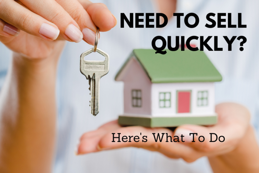 How to sell your home Quickly
