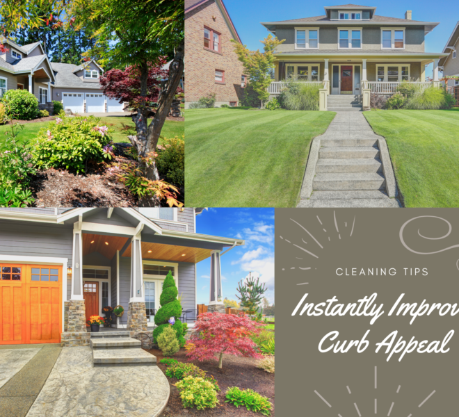 Improve curb appeal when selling your home